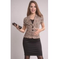 Art-0161-Chaqueta Animal Print