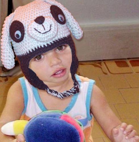Sombreros tejidos para niños - Imagui