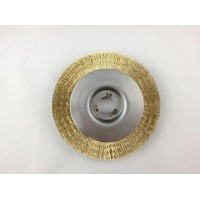 Crimped Brass Wheel Brushes