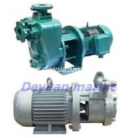 marine self-priming vortex pump