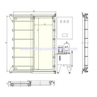 Marine Hydraulic Sliding Watertight Doors