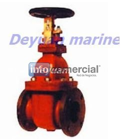 Marine Cast Steel Flanged Gate Valves