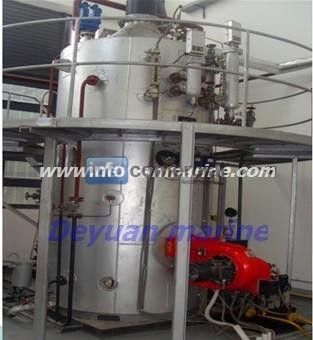 Marine heat-recovery boiler