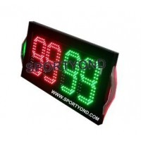Double-sided display led player football substitution boards