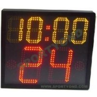 Basketball shot clocks and game period time