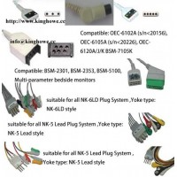 Sell ECG cable for Nihon Kohden