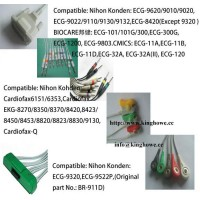 Sell EKG cable for Nihon Kondon ,DONGJIAN,BIOCARE