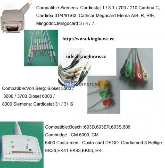Sell EKG cable for siemens