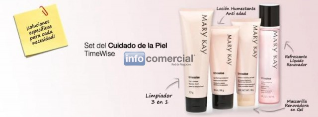 Productos TimeWise Mary Kay
