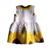 Universo Artesano - Dress 100% cotton handpainted ecofriendly social responsable