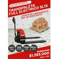 Venta,TRANSPALETA SL15 FULL ELECTRICO