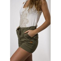 Top estampado  y Short