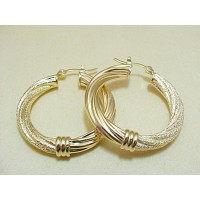 Gold filled 18k brasileño/Steel/platas/Rodio/