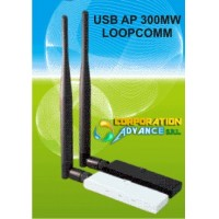USB AP WIFI 300MW LOOPCOMM